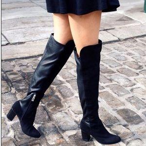 Schutz Fullara Brown Leather Boots